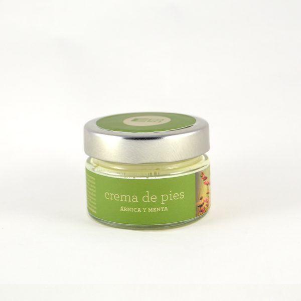 Crema De Pies Ecológica Vegana De Arnica Y Menta