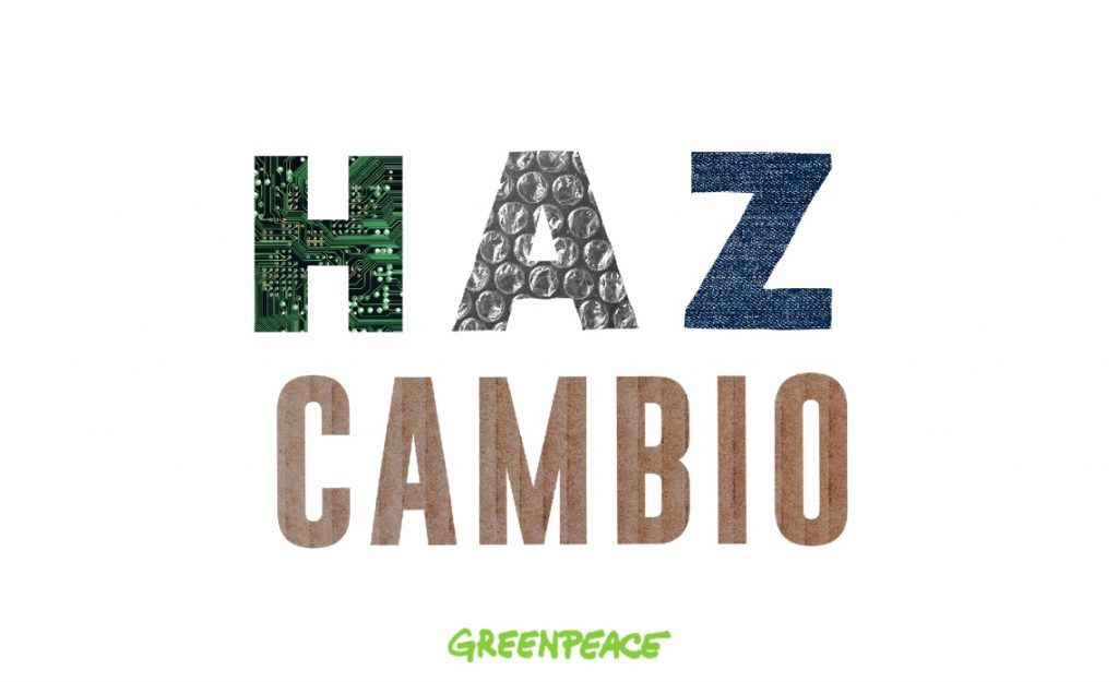 En Black Friday ¡HAZ cambio! con Greenpeace