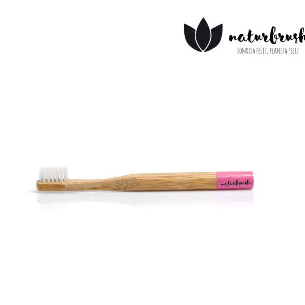 cepillo de dientes para niños rosa rosa