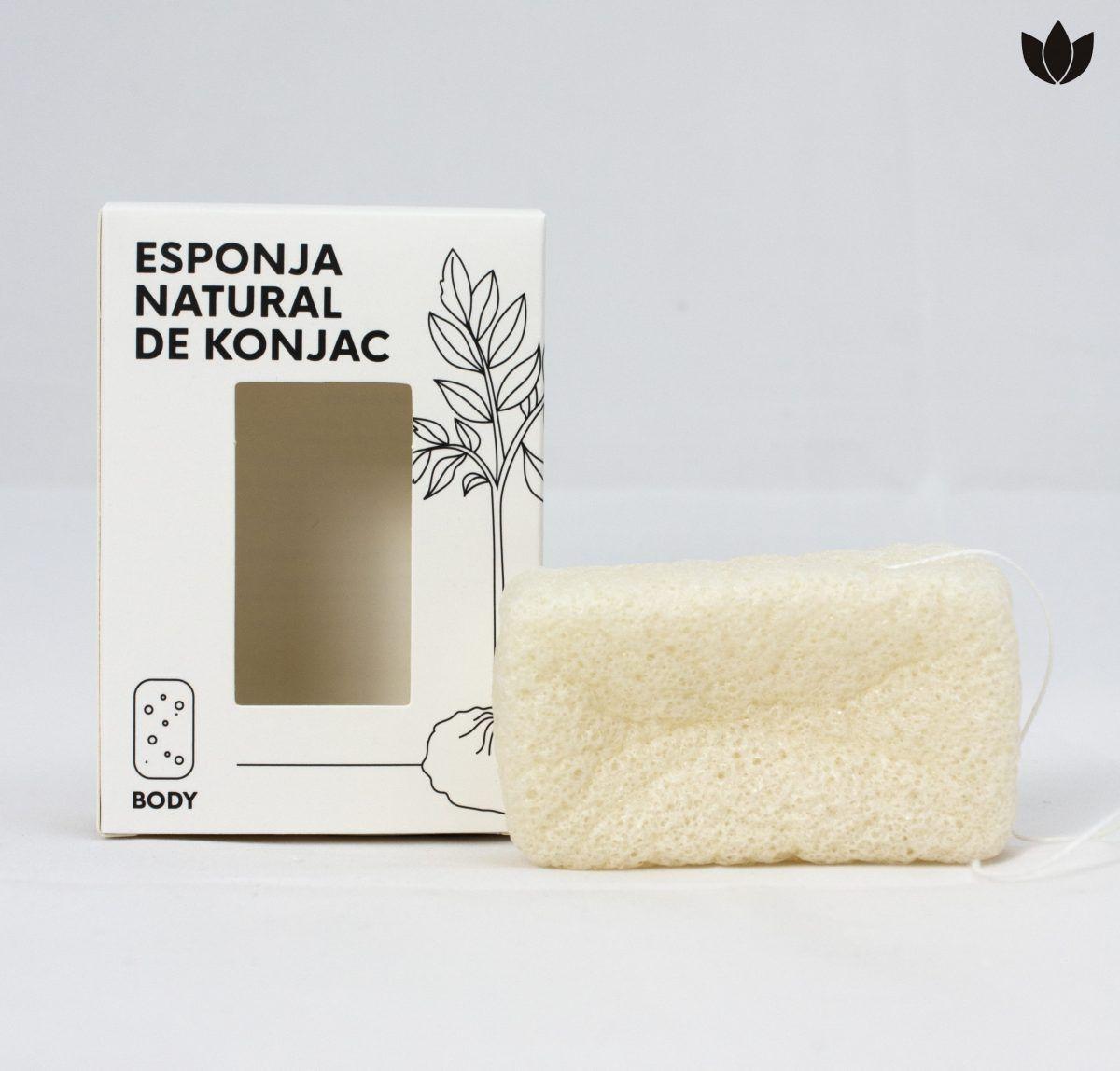 esponja natural de konjac