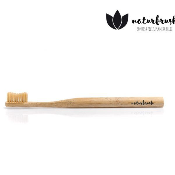 cepillo biodegradable natural
