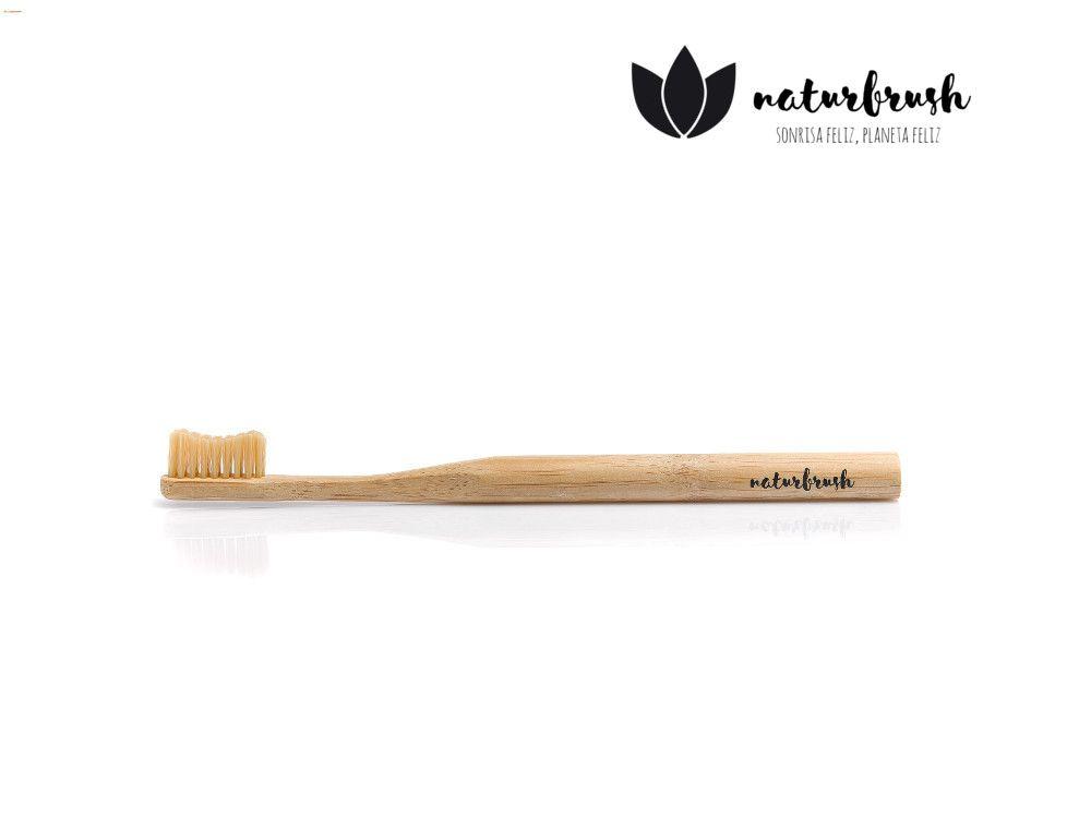 cepillo biodegradable natural